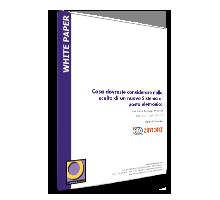 Cosa dovreste considerare nella scelta di un nuovo Sistema di posta elettronica - Whitepaper Logo