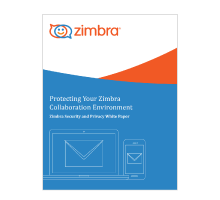Protecting Your Zimbra Collaboration Environment - Zimbra Security and Privacy White Paper Logo