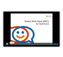 Zimbra Web Client for End Users Logo