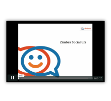 What's New in Zimbra Social 8.5 Logo
